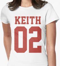 Keith Sporttrikot Tailliertes T-Shirt für Frauen