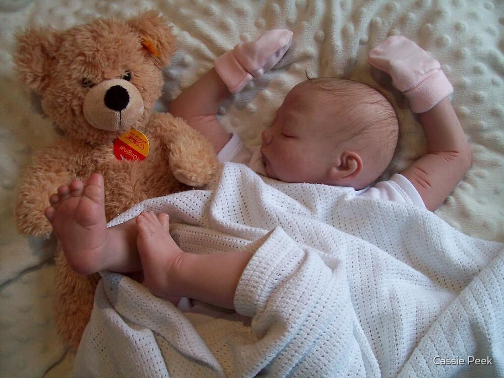 sleeping reborn by Cassie Peek