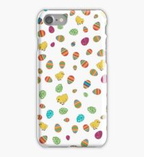 Easter Chicks and Eggs iPhone Case/Skin
