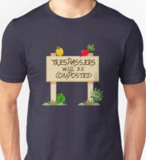 Funny Composting Gardening Planting Apparel Unisex T-Shirt