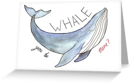 Whale You Be Mine by flailingmuse