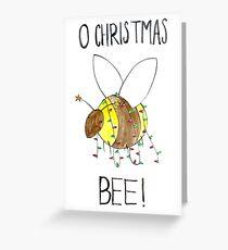 O Christmas Bee! Greeting Card