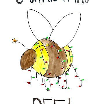 O Christmas Bee! by flailingmuse