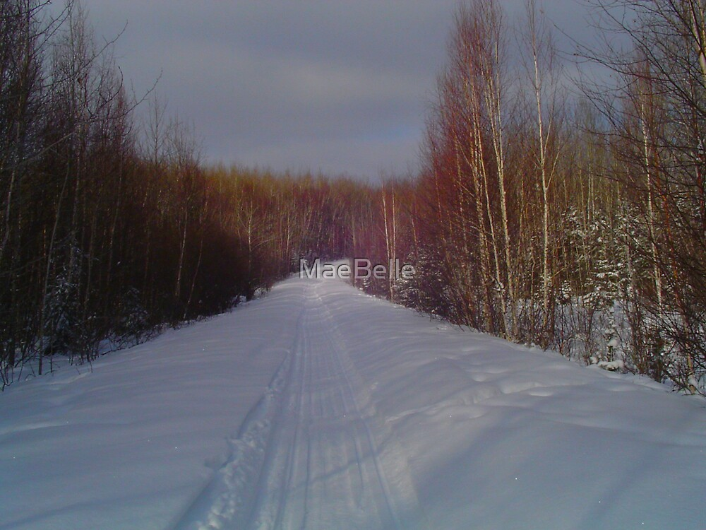 Our Winter Road by MaeBelle