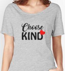 Choose Kind Shirt/ Anti Bullying t-Shirt/ Teacher Shirt Choose Kind/ Lover Gifts/ Choose Kind Anti-Bullying Teacher T-Shirt Unisex Tee Women's Relaxed Fit T-Shirt