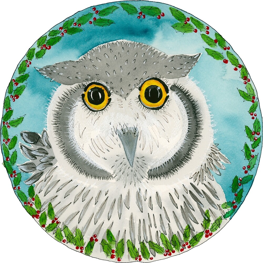 Christmas Owl by wildalive