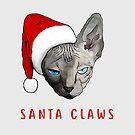 Santa Katze von undergrass