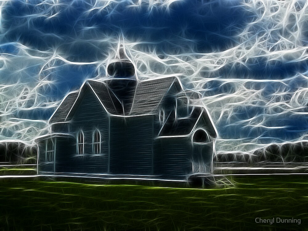 the church by Cheryl Dunning