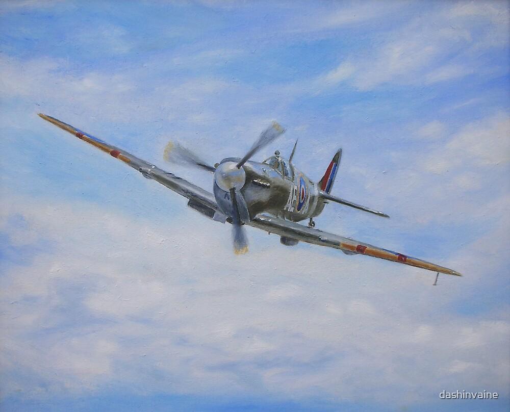Spitfire Mk V by dashinvaine