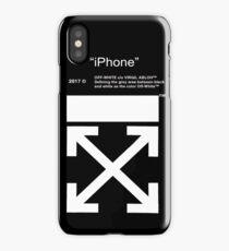 iphone off white iPhone Case