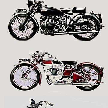 VINTAGE MOTORCYCLES by BulganLumini