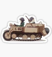Shoujou Shuumatsu - Kettenkrad Sticker
