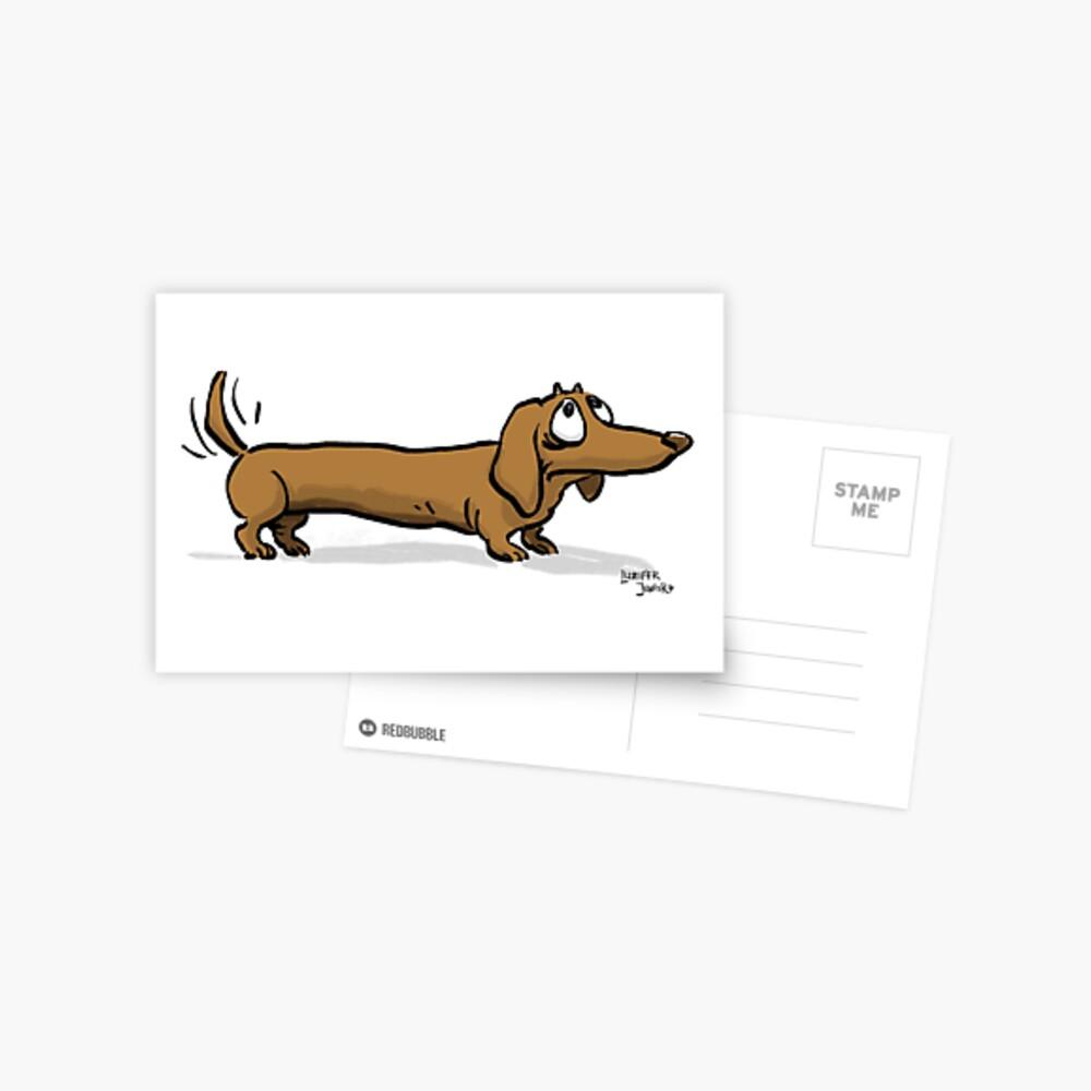 CORNIBUS DACKEL Postkarte