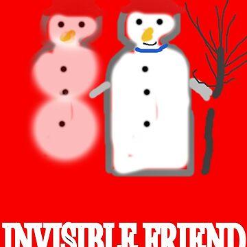 SNOWMAN INVISIBLE FRIEND  by Shoshonan