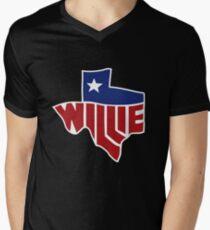 Willie's Texas Men's V-Neck T-Shirt