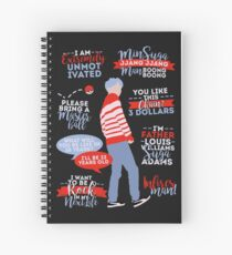 BTS Suga Quotes Spiral Notebook
