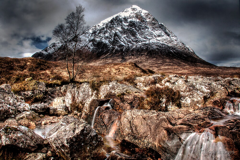 View of Buchaille by Thistle Images