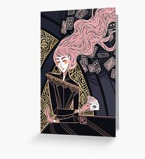 The Heiress of Spades Greeting Card
