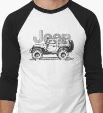 Rubicon Tee Men's Baseball ¾ T-Shirt
