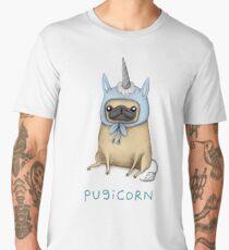 Pugicorn - Fawn Men's Premium T-Shirt
