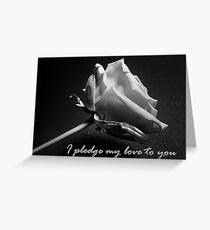 Pledge Greeting Card