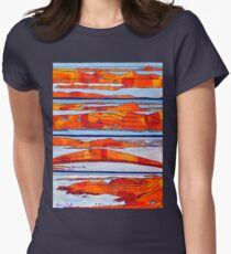 The Sky Road. Four Views. Galway, Ireland T-Shirt
