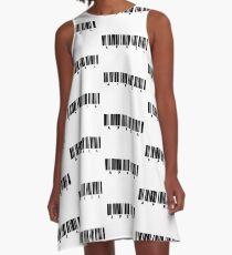 APRIL barcode A-Line Dress