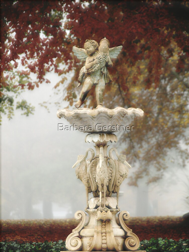 Rosecliff Fountain by Barbara Gerstner