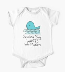 Adorable Baby Whale One Piece - Short Sleeve