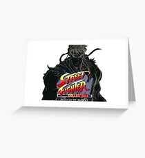 Street Fighter Collection Greeting Card