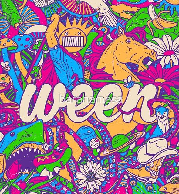 Ween American alternative rock band by barahamasa