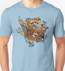 Father and His Children Unisex T-Shirt