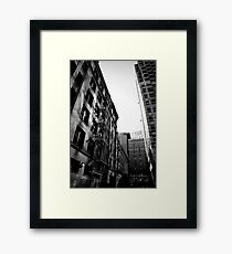 truth is more of a stranger than fiction Framed Print