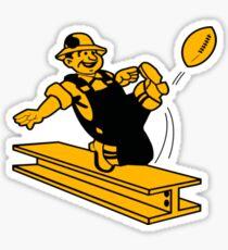 Pittsburgh Steelers retro Sticker