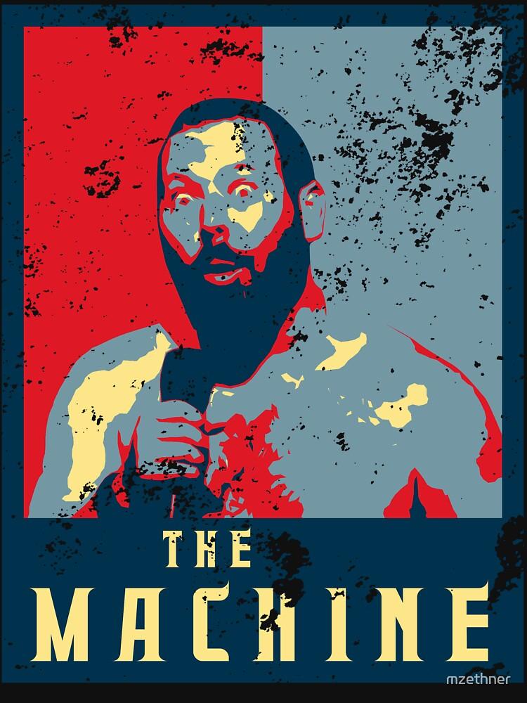 The Machine  Political Poster- Bert Kreischer by mzethner