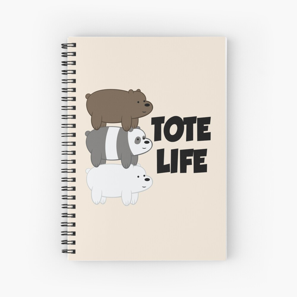 Tote Life Spiral Notebook