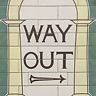 Way out (right) by Dave Schweisguth
