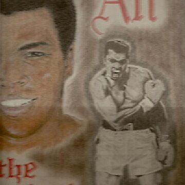 Muhammad Ali by artmgm