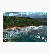 Ghajn Tuffieha Bay Photographic Print