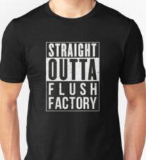 Fortnite Battle Royale - Straight Outta Flush Factory Unisex T-Shirt