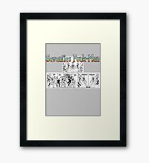 Seventies Funk-Man Framed Print