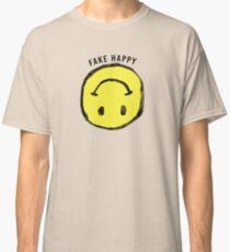:( F A K E   H A P P Y :) Classic T-Shirt