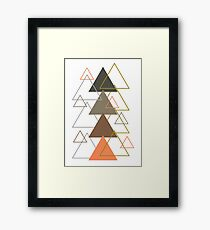 TRIANGLE Framed Print