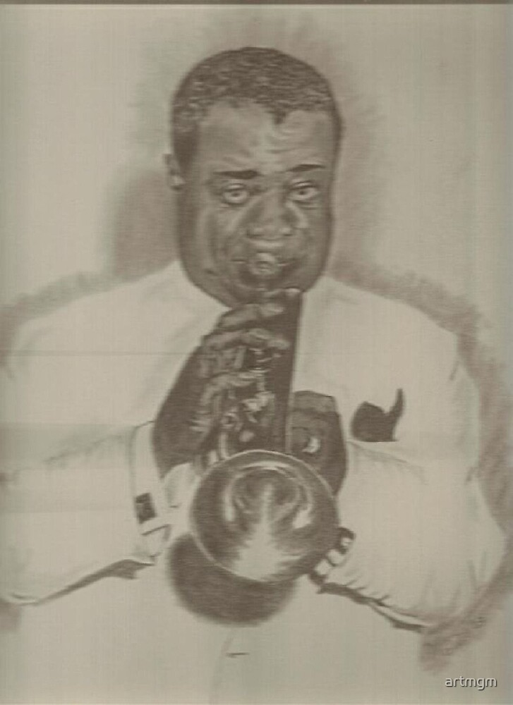 Louie Armstrong by artmgm