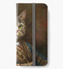 The Hermitage Court Outrunner Cat  iPhone Wallet/Case/Skin