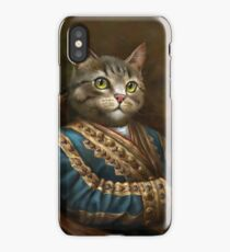 The Hermitage Court Outrunner Cat  iPhone Case