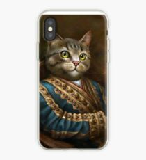 Die Hermitage Court Outrunner Katze iPhone-Hülle & Cover
