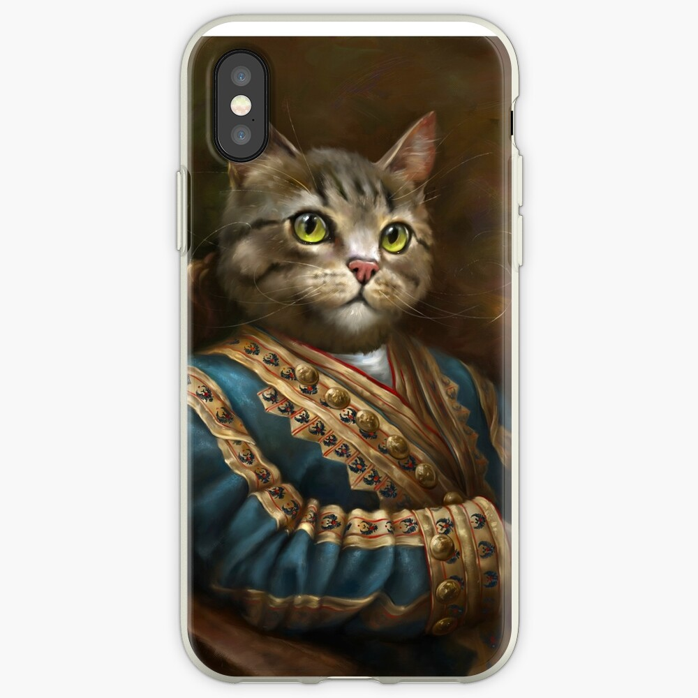 The Hermitage Court Outrunner Cat  iPhone Case & Cover