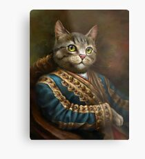 The Hermitage Court Outrunner Cat  Metal Print