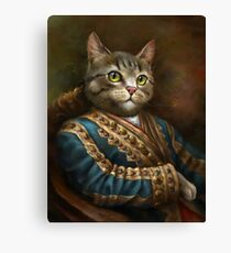 Die Hermitage Court Outrunner Katze Leinwanddruck